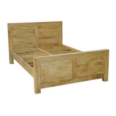 oak shade dakota single bed frame