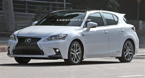 Spindle Grille 2014 Lexus Ct 200h F-sport Caught