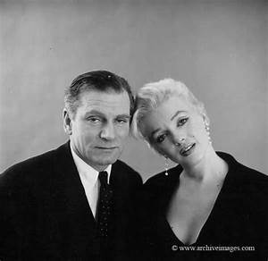 Marilyn Monroe with Laurence Olivier & Terence Rattigan ...