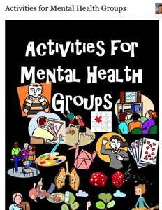 Mental Health Group Therapy Activities