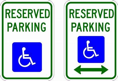 R7 Parking Sign Reserved Handicapped Signs Type