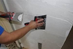 Enduire Un Mur Abimé : enduire un mur dans les r gles de l art galerie photos d ~ Dailycaller-alerts.com Idées de Décoration