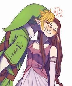 Link and Zelda | Zelda and Link