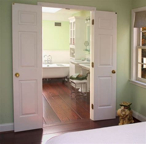French Doors Going Into Bathroom  Angie's Pinterest
