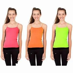 bo 3 Kids Neon Camisole Pink Orange Green Buy