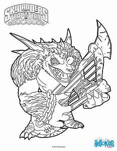 Skylanders Trap Team Coloring Pages