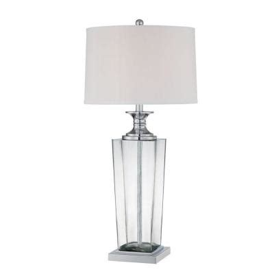 discontinued uttermost ls illumine 33 in white table l with white fabric shade