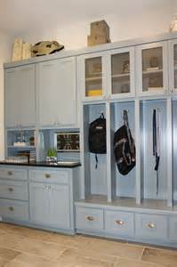 oak kitchen island mud room 01 burrows cabinets central builder direct custom cabinets