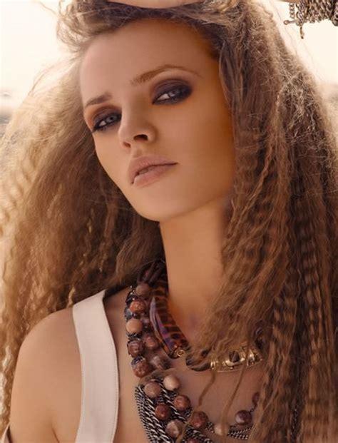 cute crimped hairstyles  long hair   crimp hair step  step hairstyles