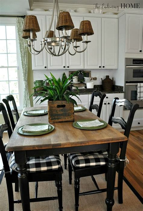 small farm table kitchen best 25 black kitchen tables ideas on kitchen