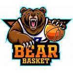Mascot Basketball Bear Player Thehungryjpeg Cart