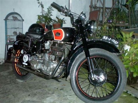 1947 Royal Enfield Type J Classic Motorcycle Pictures