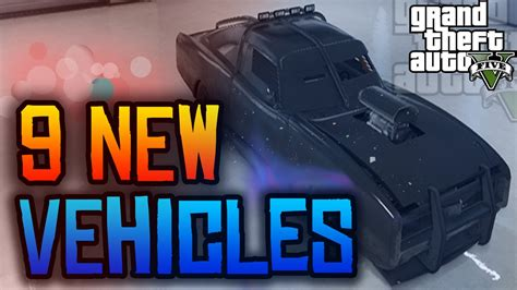 9 New Vehicles Coming To Gta 5 Ps4 & Xbox