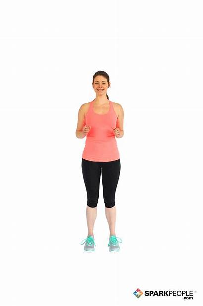 Exercise Knee March Place Exercises Sparkpeople