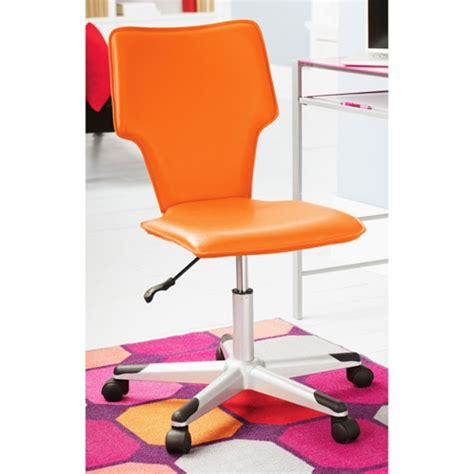 upholstered desk chair with arms orange vinyl upholstered desk chair without arms with kids