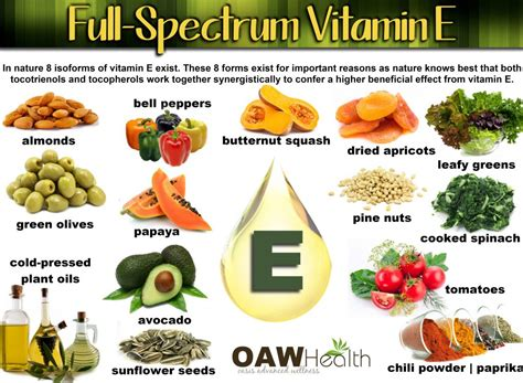 Importance of vitamin e