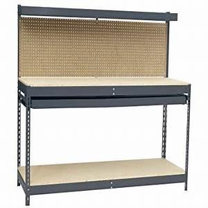 Amazon com: Hopkins 90164 2x4basics Workbench and Shelving