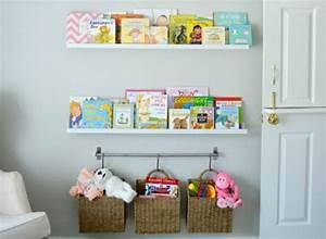 Rangement Chambre Enfant : rangement chambre bebe idee ideeco ~ Teatrodelosmanantiales.com Idées de Décoration