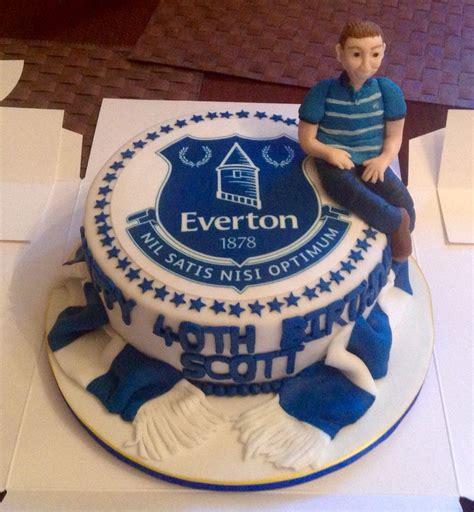 everton cake cakes  nicky   birthday cake