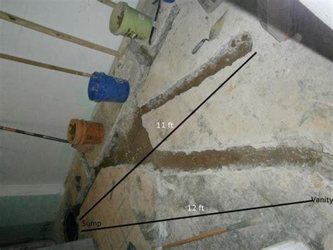 toilet drain pipe slope construction basics  told