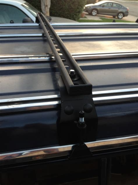 diy roof rack diy rooftop cer made from the simplest of materials