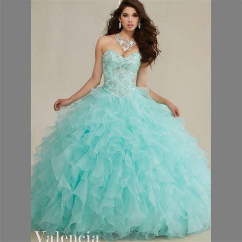 popular aqua quinceanera dresses buy cheap aqua