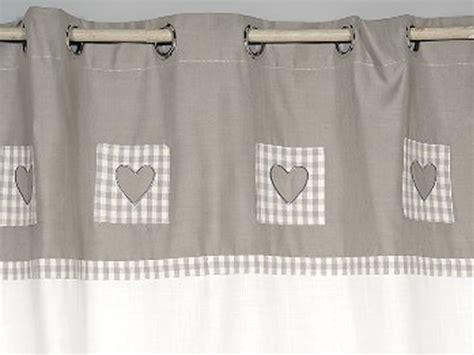 rideau voilage cuisine rideaux cuisine gris rideau gris avec coeur rideaux