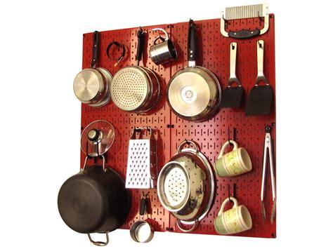 pegboard storage wall pans pots organizer