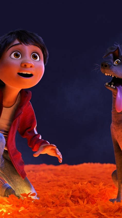 Wallpaper Coco, dog, best animation movies, Movies #13204