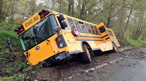 Driver In Orting School Bus Crash Could Face Charges