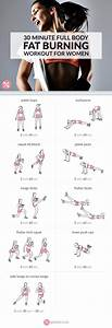 Fitnessstudio Zu Hause : 30 minute full body fat burning workout training pinterest bungen k rper und bewegung ~ Avissmed.com Haus und Dekorationen