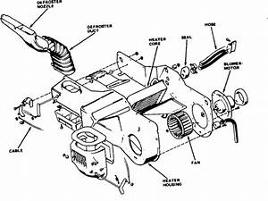 I Need A Diagram For The Heater Control Cables So I