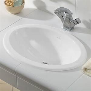Loop And Friends : villeroy boch loop friends drop in washbasin oval white with ceramicplus with overflow ~ Eleganceandgraceweddings.com Haus und Dekorationen