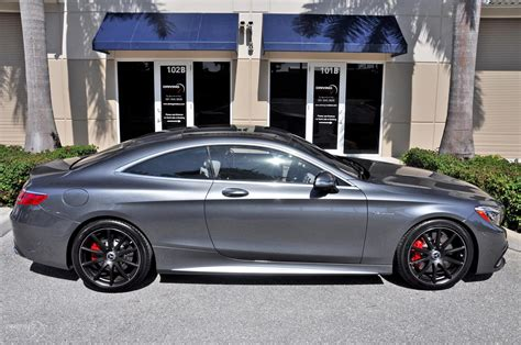 2016 Mercedes-benz S63 Amg 4matic Coupe Amg S 63 Stock