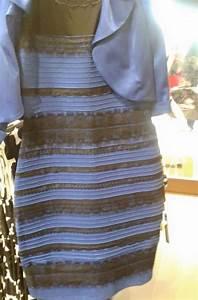 pourquoi personne ne voit cette robe de la meme couleur With robe bleu et noir illusion