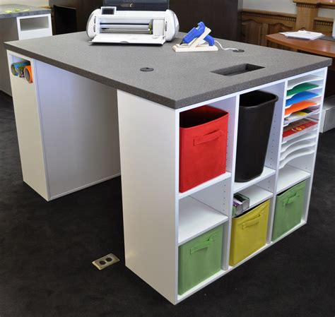 Crafts Desk by Craft Table And Storage Choices For Crafters Craft Table