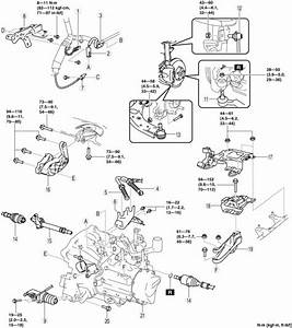 Diagram  4t65e Transaxle Engine Removal Diagram Full