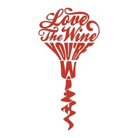love wine cuttable design