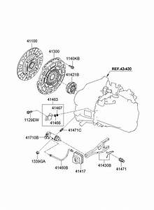 4143023200 - Hyundai Fork Assembly