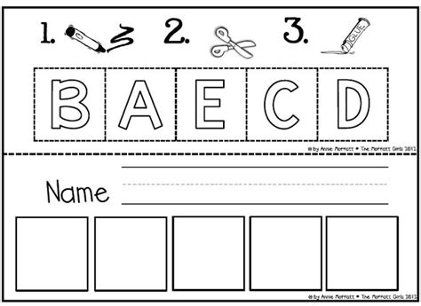 abc cut and paste worksheets worksheets for all
