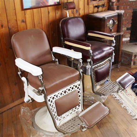 emil j paidar barber chairs ebay two vintage emil j paidar barber chairs historic fox