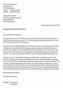 Fachkraft Für Lagerlogistik Bewerbung : muster bewerbung als berufskraftfahrer ~ Eleganceandgraceweddings.com Haus und Dekorationen