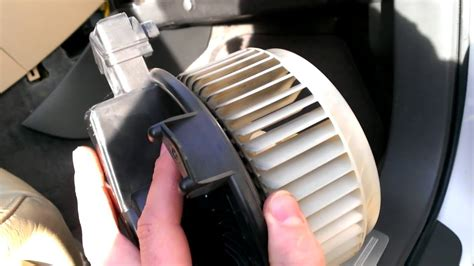 subaru tribeca  heater fanblower removal   youtube