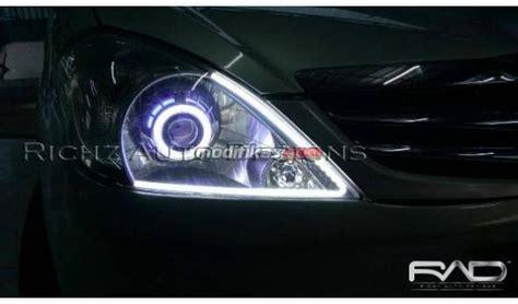 head lamp custom projector angel eyes hid drl audiline innova