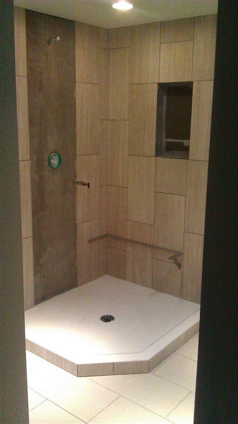 field tiles complete mud set shower pan shower pan