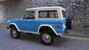 1974 Ford Bronco For Sale At Motorcar Studio