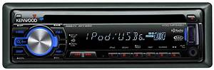 Amazon Com  Kenwood Kdc Mp3 Cd Receiver With Satellite  Hd Radio  Bluetooth Ready Front