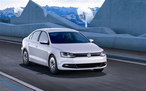 Volkswagen Jetta Hybrid 2012 Widescreen Exotic Car Image