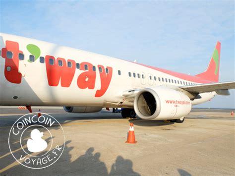 cuisine cor馥nne la compagnie aérienne t 39 way air coincoin voyage