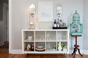 ikea expedit bookcase transitional dining room behr With kitchen colors with white cabinets with do it yourself candle holders